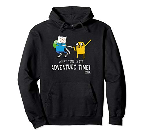 Adventure Time Finn and Jake Fist Bump Pullover Hoodie