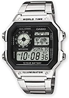 Casio Casual Watch Digital Display for Unisex AE-1200WHD-1AVE