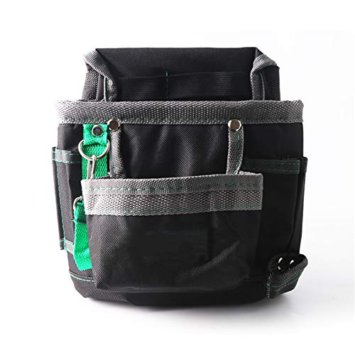 Service Tool Belt Pouch, Tools Bag Waist Belt Bag Pocket Tool Storage Tool Pouch 600D Oxford Cloth Hand Tools Hardware Storage