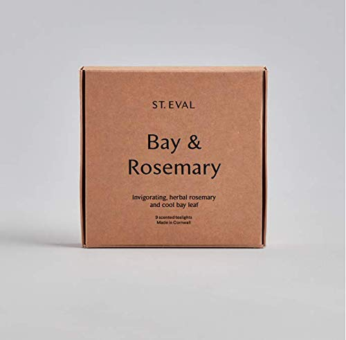 Bay & Rosemary Scented Tealights by St Eval