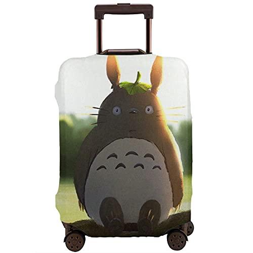 Anime My Neighbor Totoro Maleta Funda Protector Lavable Diseño 3D 4 Tamaños para la mayoría de Equipaje Bolsa Protectora Cremallera