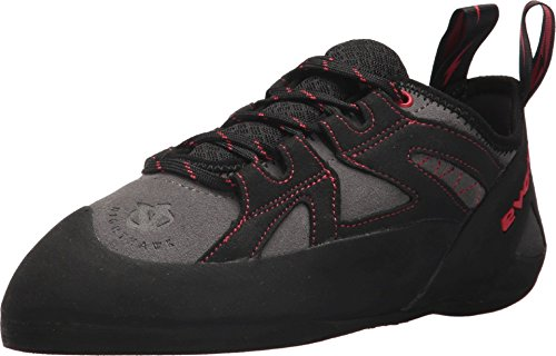 Evolv Nighthawk Climbing Shoe - Men's Gray/Black, 7.5