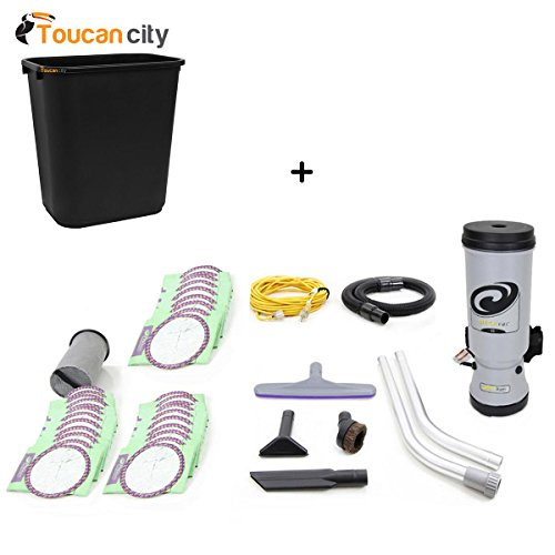 Review Toucan City 7 Gal Trash can and ProTeam New Loaded More Powerful 2015 MegaVac 10 Qt. Backpack...