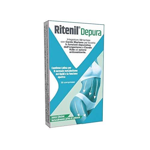 Syrio Integratore Alimentare Ritenil Depura, Multicolore, 30 Compresse