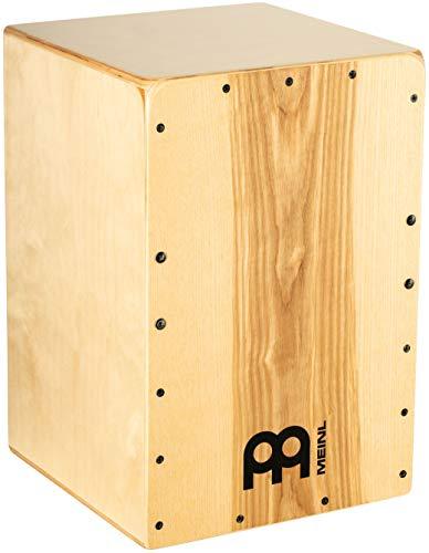 Meinl Percussion - Cajón de tambor con caja interna – fabricado en Europa – placa frontal de fresno corazón/cuerpo báltico de abedul, serie Snarecraft (SC80HA)