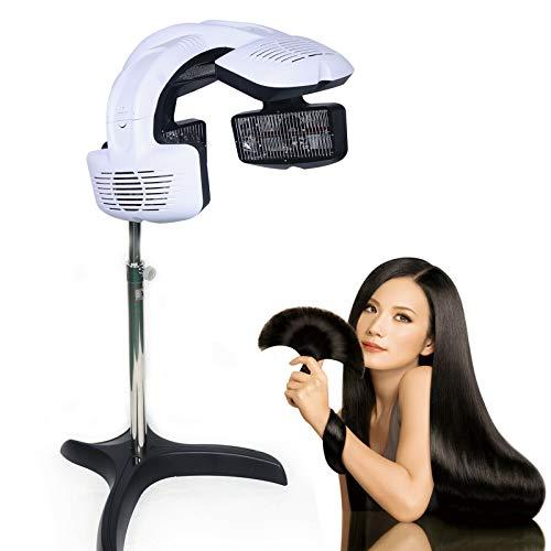 Secador de pelo por infrarrojos, procesador Stand-Up, para peluquería, tratamiento de cabello, calefacción, secador vertical, 0-60 ℃, 220 V, 800 W