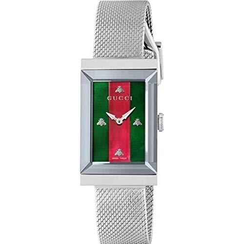 Gucci G-Frame-Armbanduhr Gehäuse Quarz Analog YA147401