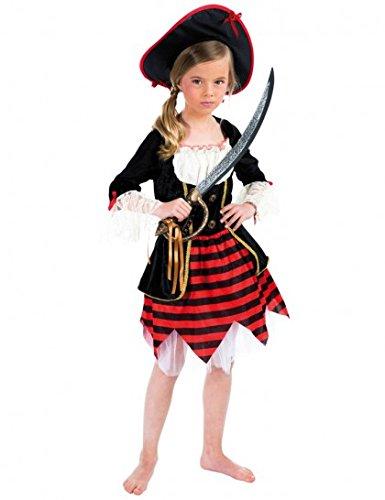 Chaks C4117140, Déguisement Pirate Girl 140cm, 10-12 ans