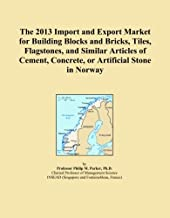 The 2013 Import and Export Market for Building Blocks and Bricks, Tiles, Flagstones, and Similar Articles of Cement, Concrete, or Artificial Stone in Norway
