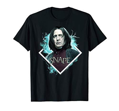 Harry Potter Snape Blue Hue Portrait T-Shirt