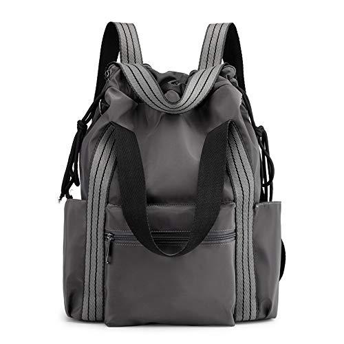 ZMDB 3 in 1 Nylon Rucksack für Damen/Herren, wasserdichte Umhängetasche Handtasche Daypack mit Verstellbarem Riemen, Leichter & Anti-Diebstahl Tagesrucksack für Reisen Arbeit Schule