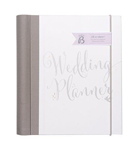 Busy B Bride to B - Album di preparazione matrimonio, con lista di nozze, tasche per carte e biglietti e calendario da compilare