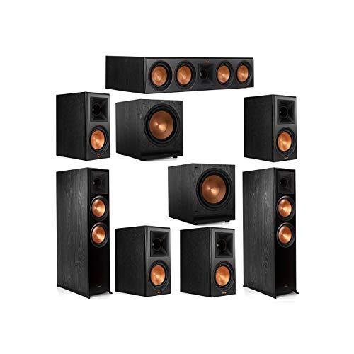 Purchase Klipsch 7.2 System with 2 RP-8000F Floorstanding Speakers, 1 Klipsch RP-504C Center Speaker...