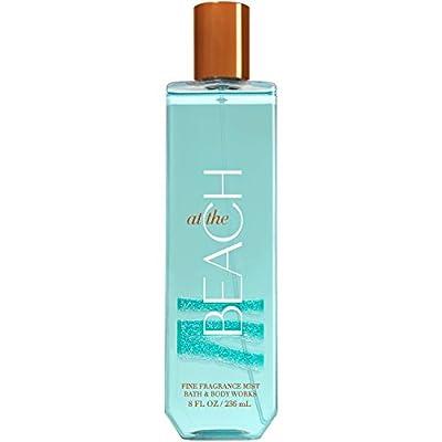 Bath and Body Works Fine Fragrance Mist 8 Ounce At The Beach Full Size Spray