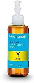 Refil de Tinta para Impressoras Epson 100ml Cor Amarelo Multilaser - RF008