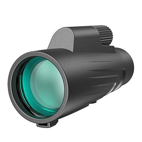 ZOUQILAI Télescope monoculaire 12X50 à Haute Puissance pour la télescope monoculaire à Une Seule Main pour Enfants étanche HD Prism Optic Observation des Oiseaux