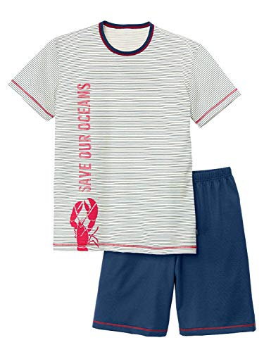 CALIDA Boys Ocean Jungen Kurz-Pyjama Jungen
