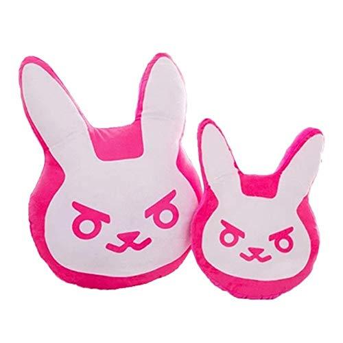 Detazhi 2 pcs 35cm&55cm Overwatches Game Plush Pillows Pioneer Dva Rabbit Plush Pillow Cushion Toys Soft Stuffed Animals Cosplay Kids Toys