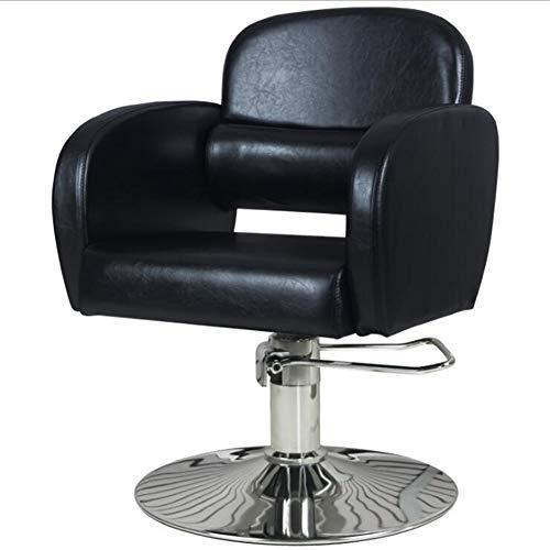 YUXINCAI kapsalon stoel kapsalon gebreide salon tilt haarsnit kappersstoel beauty make-up beauty shop kruk