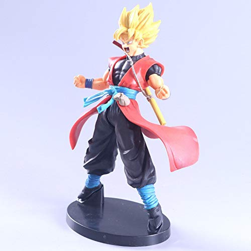 CLEARNICE 8.6 Inch Anime Dragon Ball A Martial Arts World Son Goku 7 Anniversary DBZ Gk Statue PVC Action Figure Collection Model Toy Boxed M3885 image
