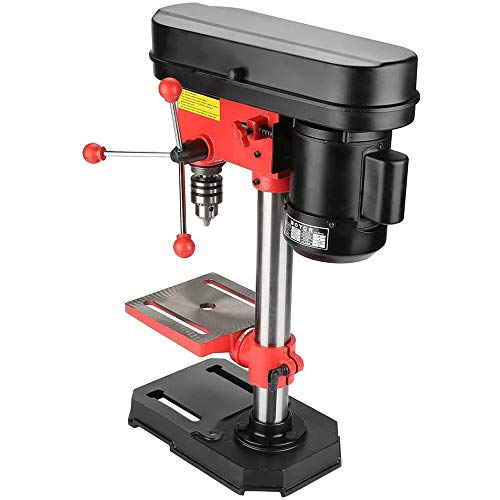 Affordable Drill Stand for Hand Drill, Electric Bench Clamp Protable Mini Drill Press Stand Tool Mac...