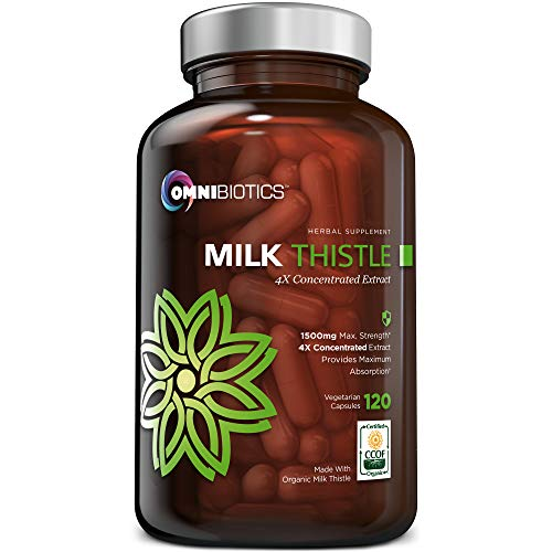 ORGANIC MILK THISTLE 4X CONCENTRATE - We developed our maximum potency milk thistle extract utilizing an effective, proprietary seed extraction method. The result is one of the strongest liver detox supplements available. Studies show that higher con...