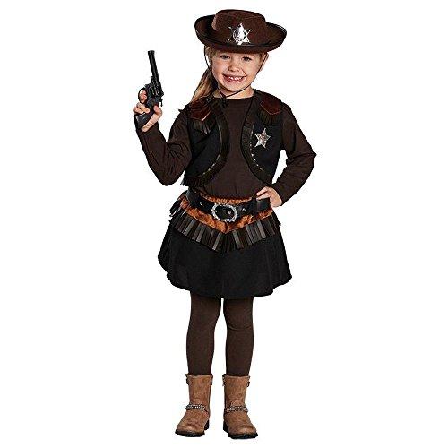 Rubie's Disfraz infantil de vaca Little Cowgirl, talla 116