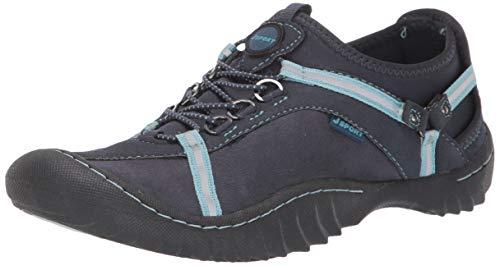 JSport by Jambu Women's Tahoe Ultra Sneaker, Navy/Iceberg, 6.5 M US
