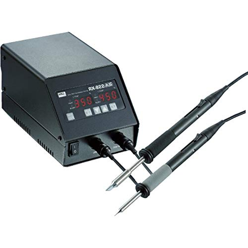 goot(グット) 鉛フリー用2本接続温調はんだこて RX822AS(こて先別売) 日本製