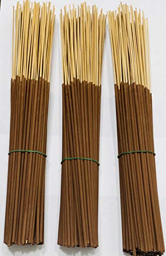 300 Sticks Premium unscented - uncolored Incense Sticks. 11 ' Punks. dip Them in Your Favorite Essential Oil and Have The Satisfaction of Adding Your own Energy in to it.