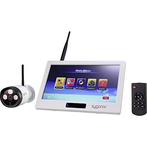 sygonix Funk-ÜBERWACHUNGSSET 1080P Touch+APP MIT