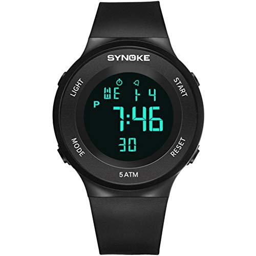 CCYOO Männer Sportuhren Outdoor Fitness Watch Alarm LED Digital Armbanduhren Männlichen 50 Mt Wasserdichte Swimm Tauchen Uhr Relogio Masculino,C