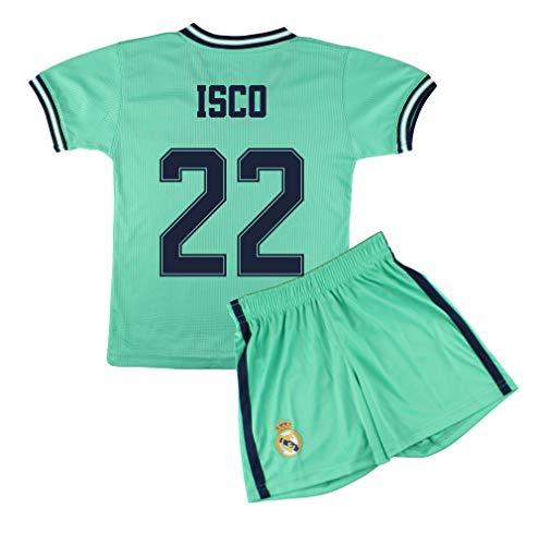 Champion's City Kit Camiseta y Pantalón Infantil Tercera Equipación - Real Madrid - Réplica Autorizada - Jugadores