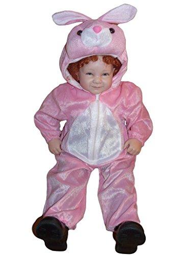 Hasen-Kostüm, J02 Gr. 80-86, für Babies und Klein-Kinder, Häschen-Kostüm, Hasen-Kostüme Hase Kinder-Kostüme Fasching Karneval, Kinder-Karnevalskostüme, Kinder-Faschingskostüme, Geburtstags-Geschenk