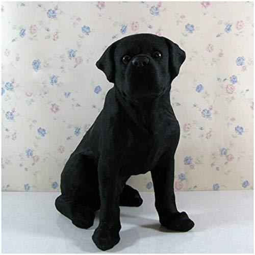 Realista de la simulación del modelo del perro - Perro Modelo monigote - realista los animales de peluche Modelo realista del perro cómodo Artesanía -para los regalos cumpleaños los niños o la Navidad
