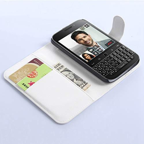 NEKOYA BlackBerry Passport Q20 Hülle,Handyhülle im Brieftasche-Stil für BlackBerry Passport Q20.Schutzhülle mit [TPU Innenschale] [Standfunktion] [Kartenfach] [Magnetverschluss]