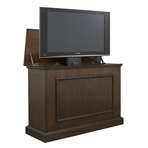"Touchstone Mini Elevate TV Lift Cabinet SlimLift Pro TV Lift TVs up to 40.75"" Wide (Espresso)"