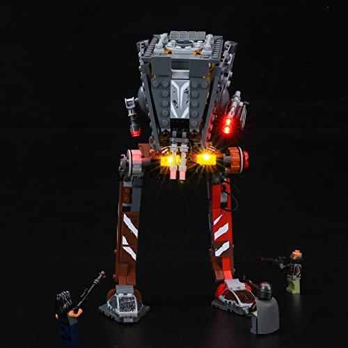 BRIKSMAX Kit de iluminación LED Lego Star Wars AT-ST Raider di The Mandalorian - Compatible con Lego 75254 Building Blocks Model- No incluir el Conjunto de Lego