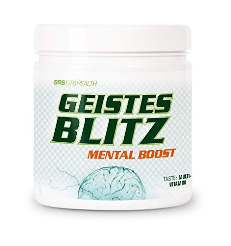 SRS Fit&Health - Geistesblitz, 210 g | Performance Booster | wacher, konzentrierter und leistungsfähiger | Schutz vor Alltagsstreß | vegan | deutsche Premiumqualität