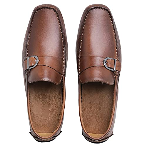 Mocassim Drive Casual Couro Sapataria Leon 2500-3768 WHISKY (39, 2500-3768 WHISKY)