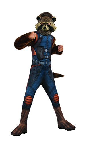 Offizielles Rubie 's Guardians Of The Galaxy 2, Starlord Kinder Deluxe Kostüm groß, 8–10Jahre