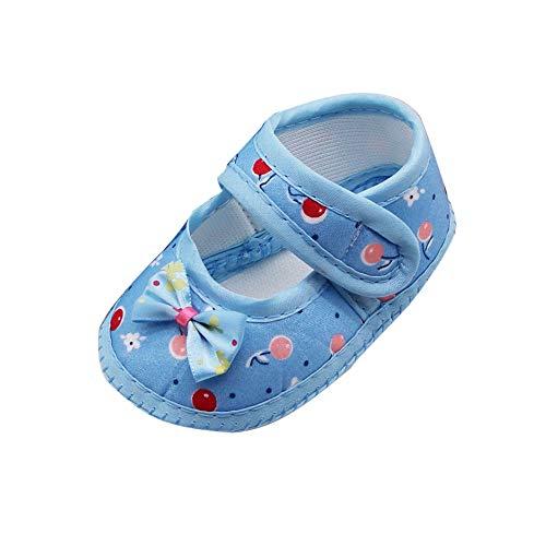 SOMESUN Babyschuhe Neugeborenen Klettverschluss Schuhe Kleinkind Prinzessin Party SchuheLauflernschuhe Mädchen Krippeschuhe Krabbelschuhe Wanderschuhe