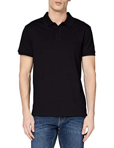 Calvin Klein Essential Regular Polo, Negro (CK Black Bae), S para Hombre