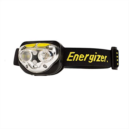 Energizer Lampe Frontale LED, Vision Ultra HD, Piles Incluses