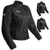 Best Armored Motorcycle Jackets - Women's Motorcycle Jacket For Women Stunt Adventure Waterproof Review