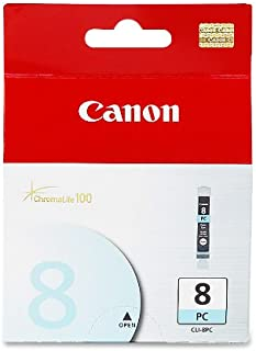 Canon CLI-8 Photo Cyan Ink Tank Compatible to Pro9000 and  Pro9000 Mark II