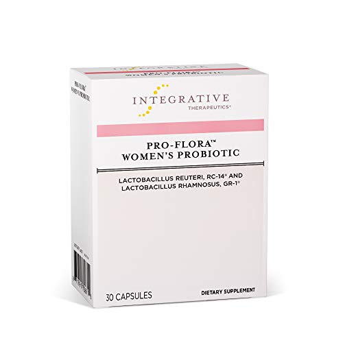 Integrative Therapeutics - Pro-Flora Women's Probiotic - Probiotics for Women with Clinically Researched Strains of Lactobacillus That Support Vaginal Microflora - 30 Soy Free, Shelf Stable Capsules