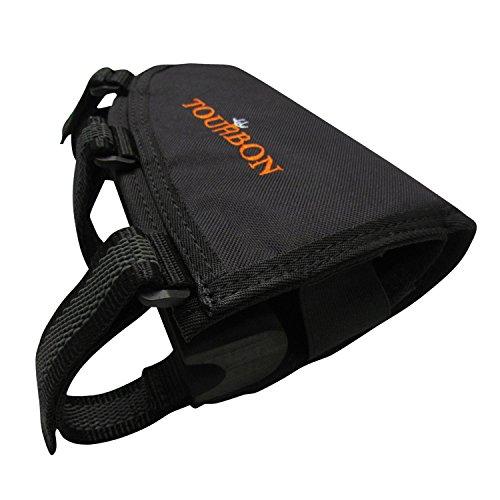 TOURBON Right Handy Adjustable Buttstock Cheek Riser Pad Rifle Shell Holder