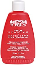 Moneysworth & Best Shoe Stretch Liquid Formula Works While You Walk, 3.5 Oz, Clear