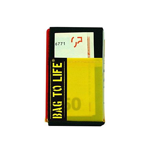 BAG TO LIFE Travel safe Wallet Geldbeutel Portemonnaie Upcycling aus einer Rettungsweste